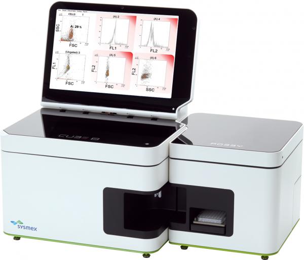 Sysmex CyFlow Cube 8  compact flow cytometry analyzer